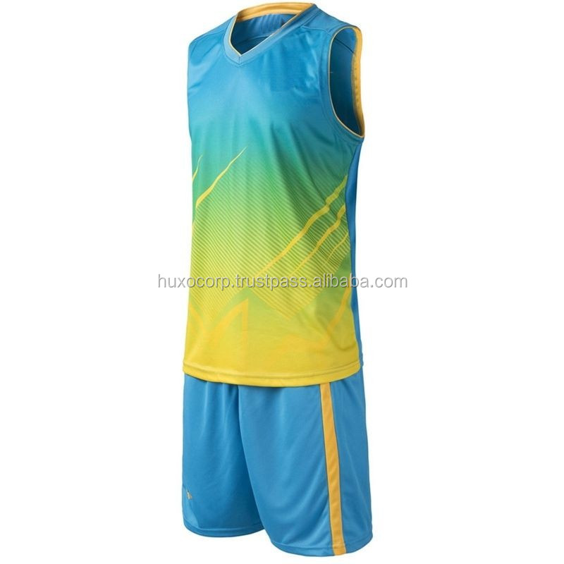 Custom Design Günstige Basketball Jersey Sublimation Reversible Basketball Uniformen