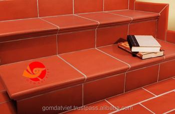 Natural Clay Terracotta Stepnose Terracotta Floor Tiles Building Materials  Tile Accessory,Terracotta Tile - Buy Terracotta Tiles,Step Tile,Clay Floor