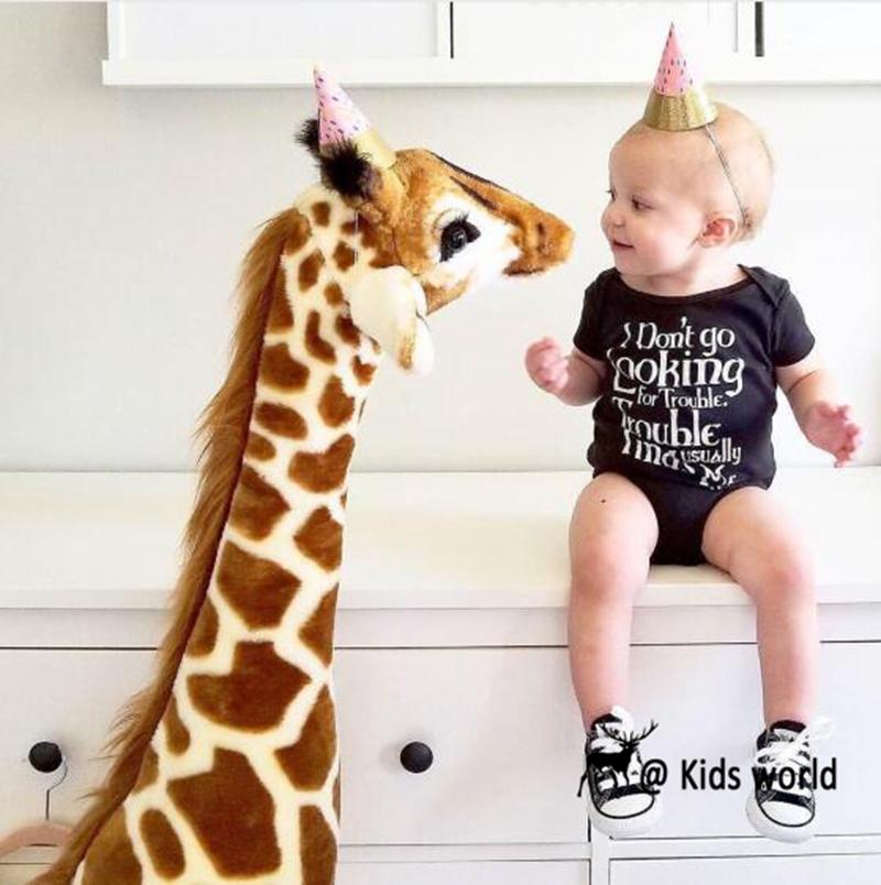 Giant Giraffe 55 Inch Tall Lifelike Stuffed Animal Plush Toy Buy