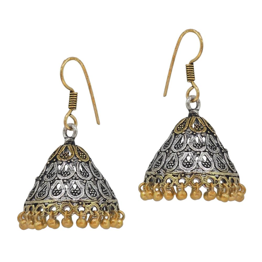 rajasthani statement en earring earrings jhumka heavy gifts