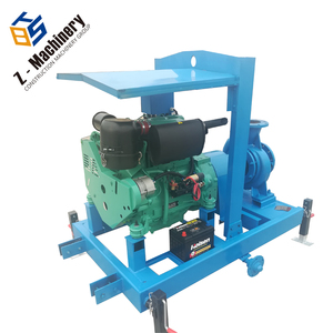 8 inch single horizontal irrigation water pump with silent box