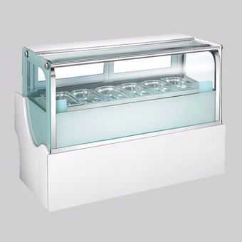 Haagen-dazs frachised outlet commercial gelato ice cream display cabinet freezer