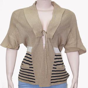 Ladies 12 GG jacquard Sweater