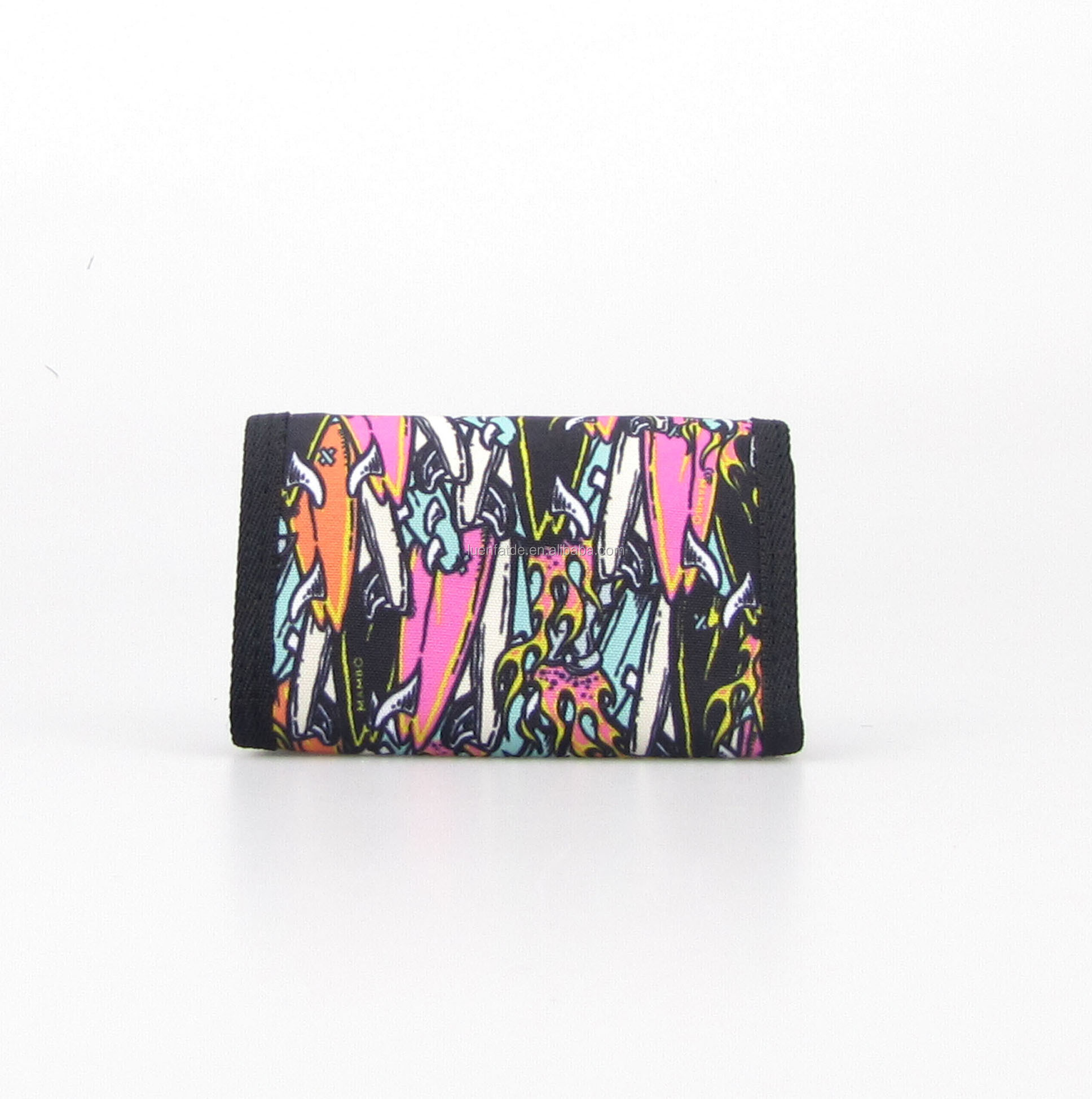 Trendy Polyester Fabric Wallet