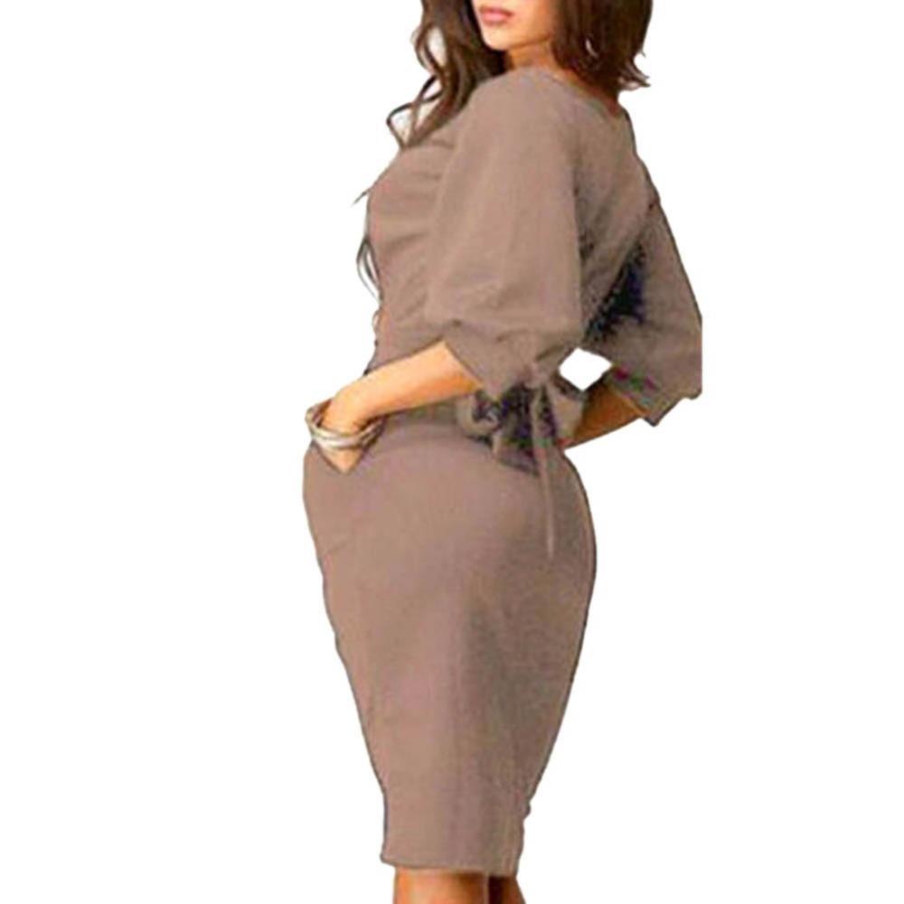 Womens-Long-Sleeve-Clubwear-Formal-Evening-OL-Mini-Dress-Bodycon-Hot-SHM4 (2)