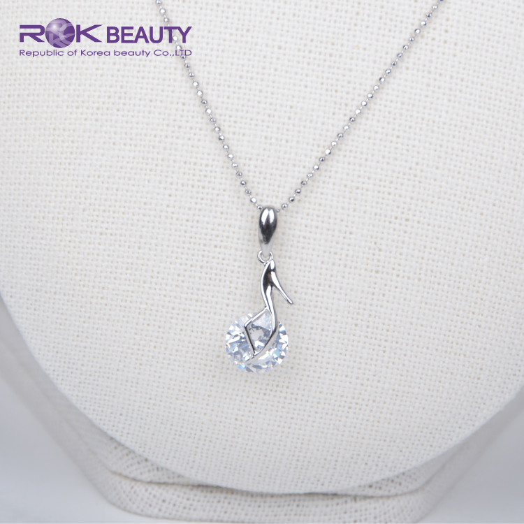 OTN 13-24 ROK KOREA WHITE GOLD PLATING WOMEN NECKLACE JEWELRY