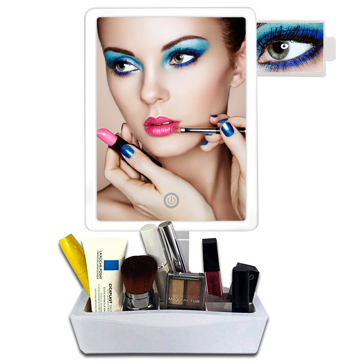 Buy Kedsum 5x Magnifying Lighted Makeup Mirror Desktop Vanity Mirror