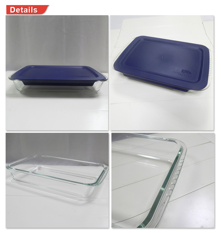 Best Quality Dishwasher Safe Microwave Oven Glass Baking Trays