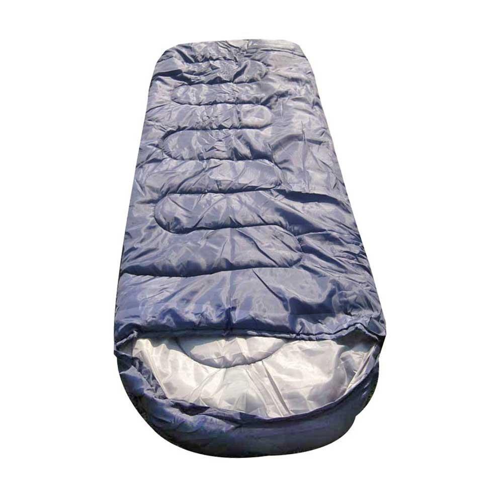 GQMART Adult Portable Envelope Hooded Warm Sleeping Bag Spring Summer Autumn Travel Outdoor Camping Bag