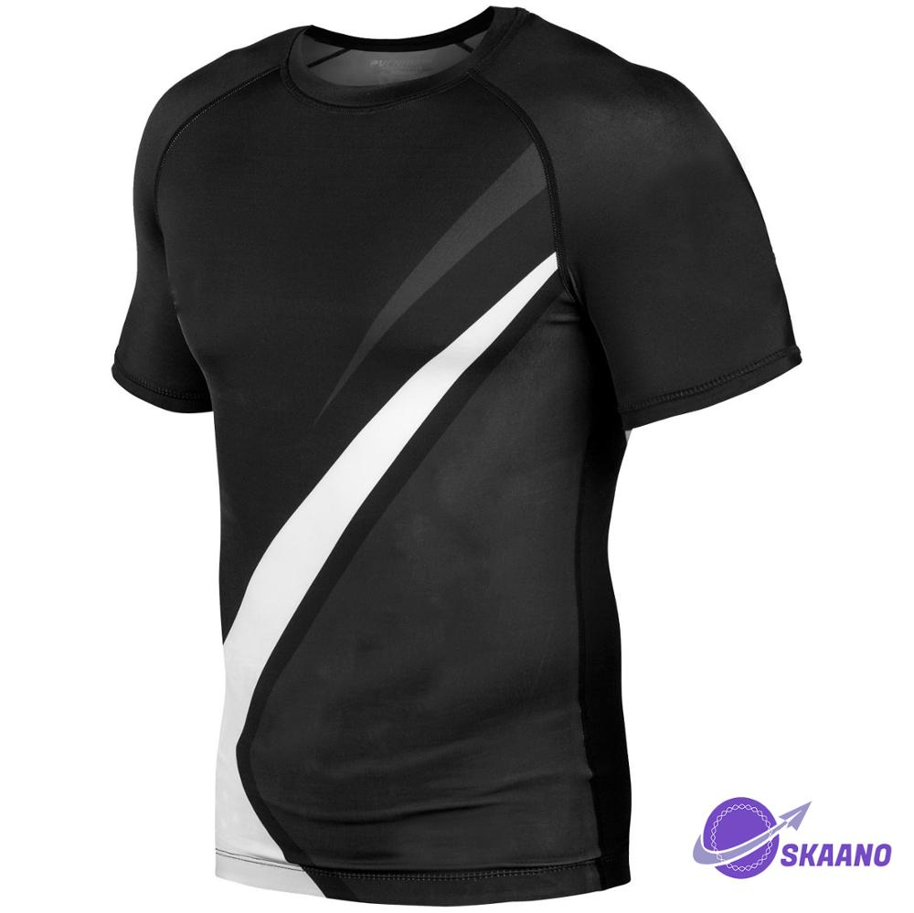 Blank compression shirts 2019 Neue ankunft Nach Bjj Made mma rash guards