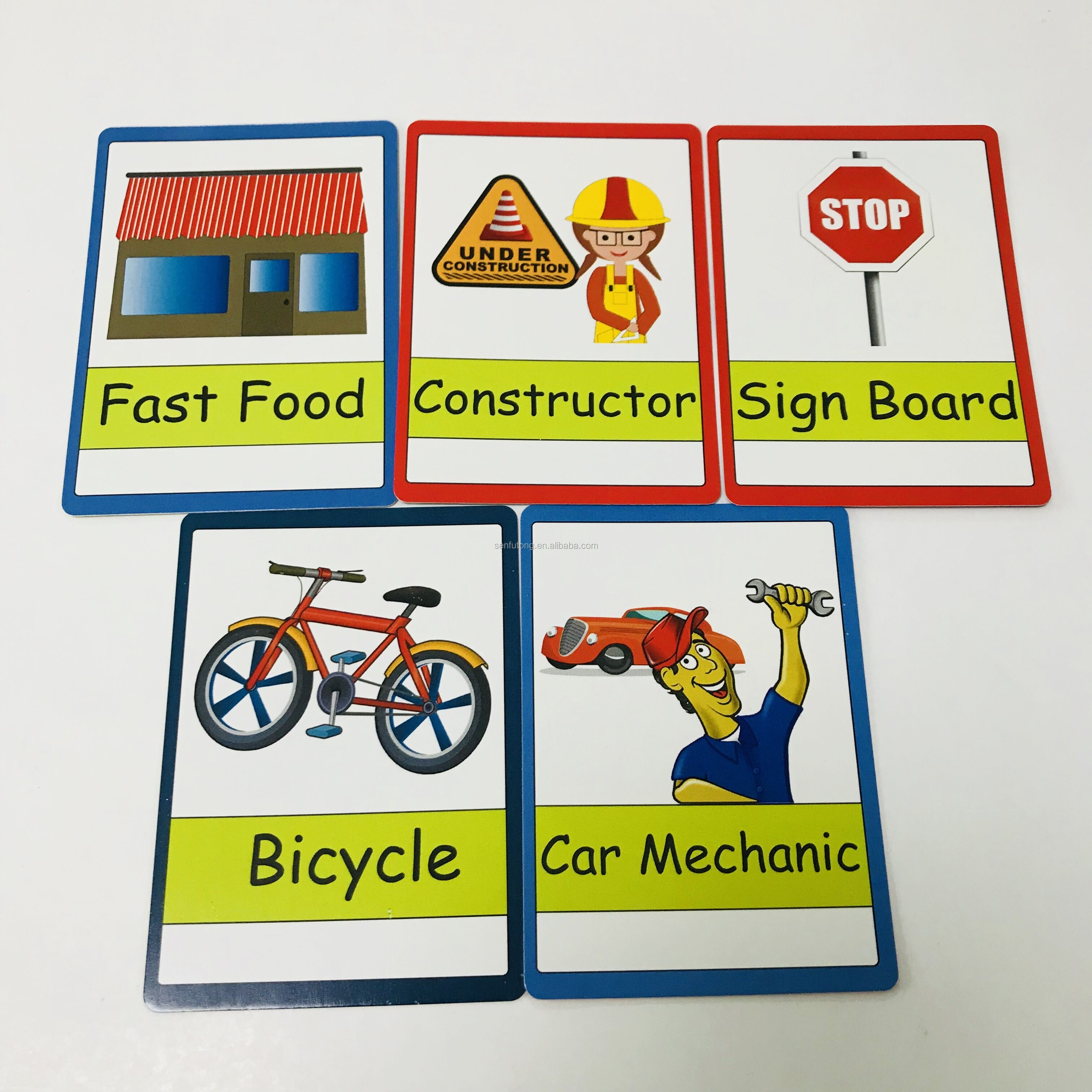 factory OEM high quality logo play card set custom printed family game cards paper poker playing card
