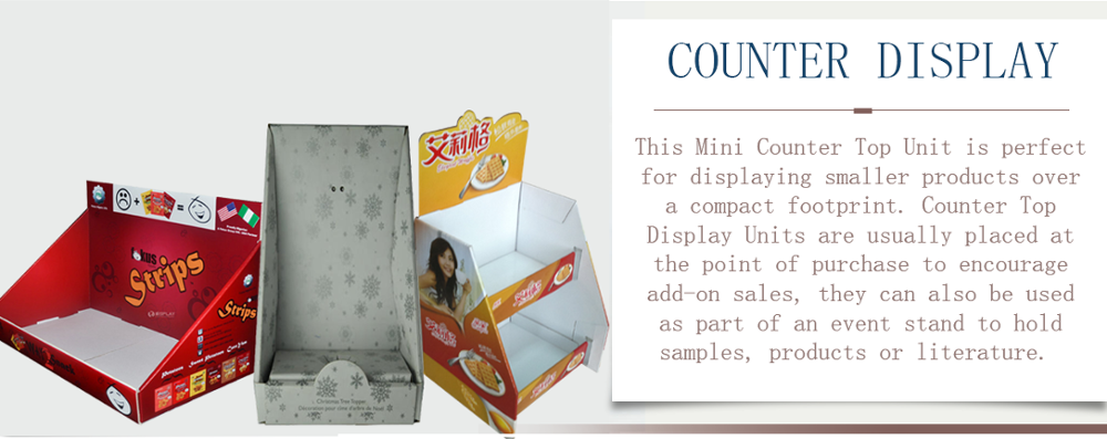 Best Price New Design Custom Corrugated Cardboard Display Boxes,Hot Sell Paper Counter Display Box