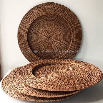 Eco-friendly wholesale rattan plate charger & Eco-friendly Wholesale Rattan Plate Charger - Buy Rattan Plate ...