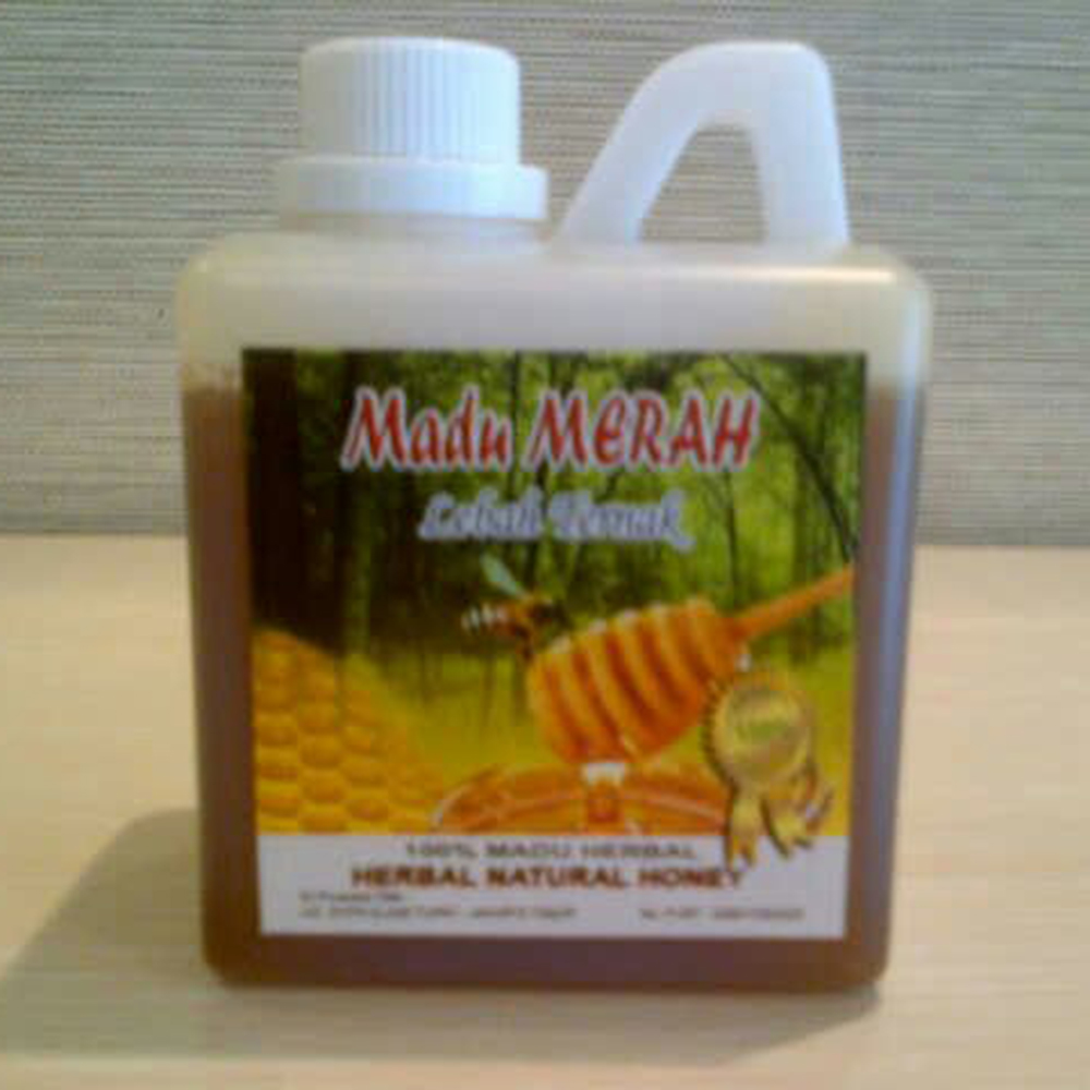 New Product Red Sweet Honey From Indonesia