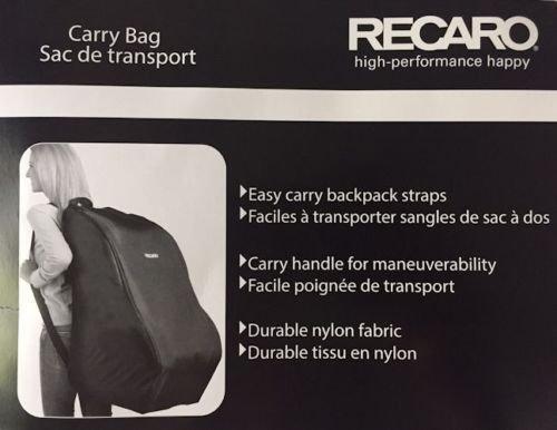 Recaro High Performance Happy Car Seat Carry Travel Bag