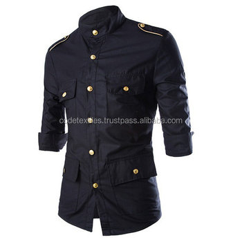 2017 Men Coat Slim Fitted Military Air Force Hand Quilted Bomber ...