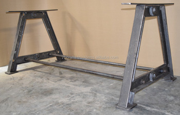 Cast Iron Leg Dining Table A Style