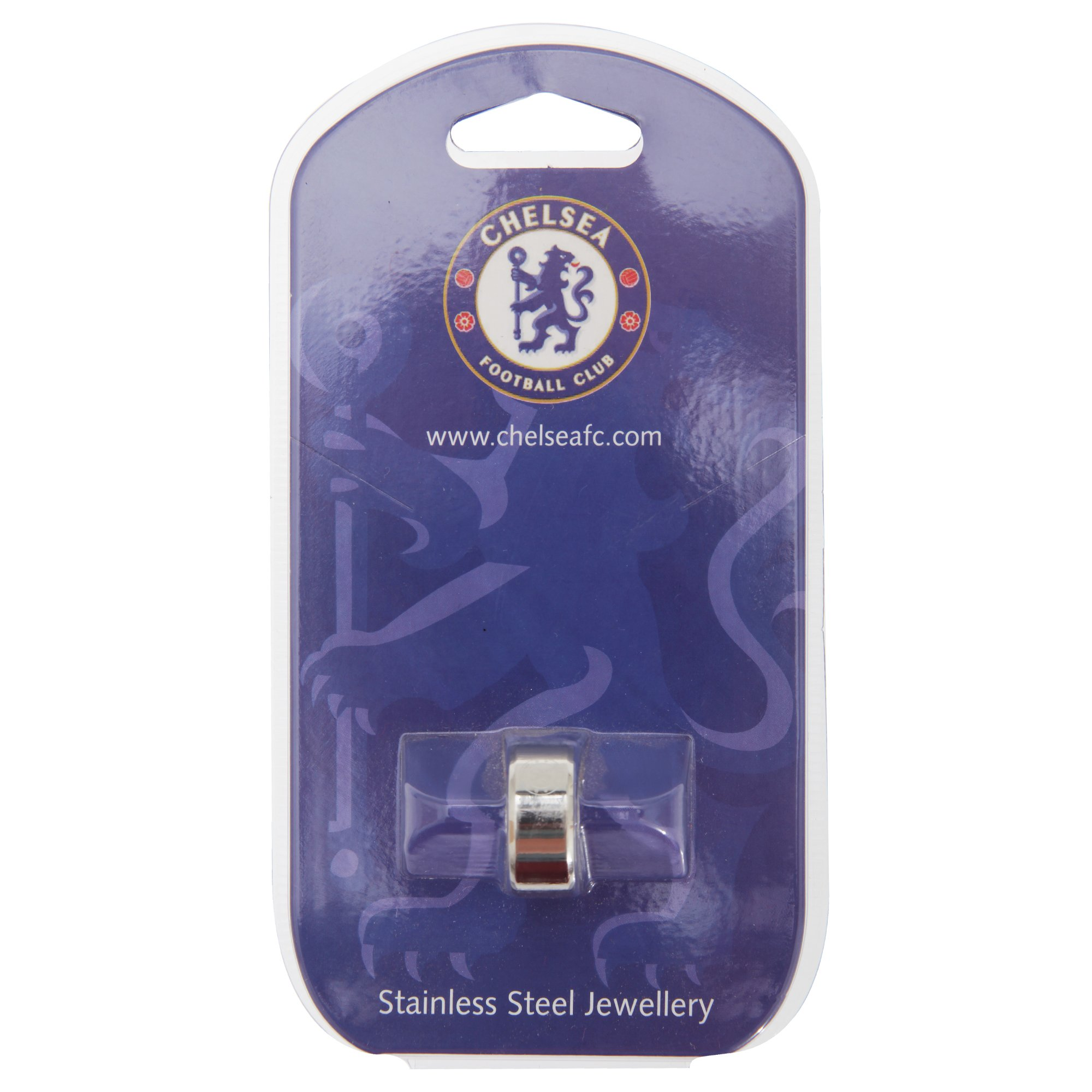 Chelsea FC Official Metal Football Crest Band Ring
