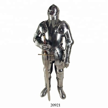 Spanish Knight Armour Suit With Sword,Medieval Knight Armor Suit,Greek Full  Body Armor , Buy Full Body Armour Suit,Full Suit Of Armour,Medieval Suit