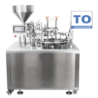 High Quality Cream Tube Filling and Sealing Machine K300U