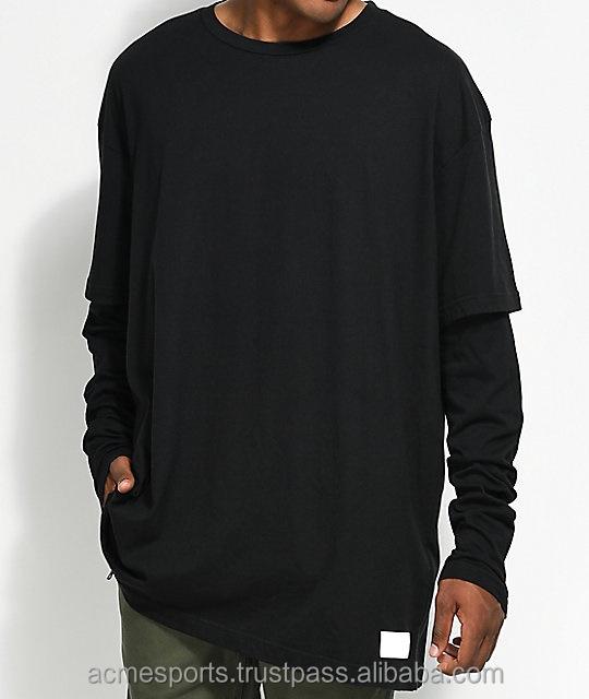 5482362b New Style Elongated T Shirts - Design big blank tall t shirts, custom men  long tee, wholesale bulk elongated t shirt