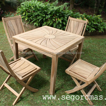 High Quality Teak Outdoor Furniture Solid Teak Wooden Garden - Solid teak outdoor table