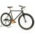 Hot Selling Electroplating Lugged Rose Golden Bicycle Taiwan Made Single Speed Bike 700C Fixed Gear
