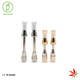 Free packaging cbd thick oil filter cartridge vape pen atomizer