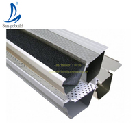 Construction Real Estate Metal Building Materials Green House Roof Rainwater Drainage System Water Channel Aluminum rain gutter