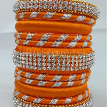 magasin discount prix plancher sélection mondiale de Fashion Silk Thread Bangles Multicolor Indian Bangles And Bracelets - Buy  Indian Traditional Bangles,Silk Thread Bangles Malaysia,Ornamental Bracelet  ...