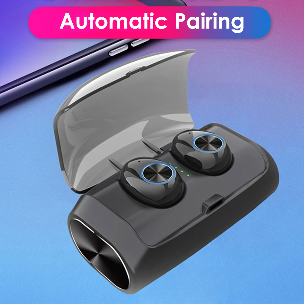 Mini Earphone Noise Cancellation Earbuds Tws Bluetooths 5.0 Sport Truly Bluetooths Earbuds With Microphone
