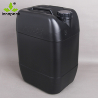 20 Liters black stackable plastic drum/Jerry can