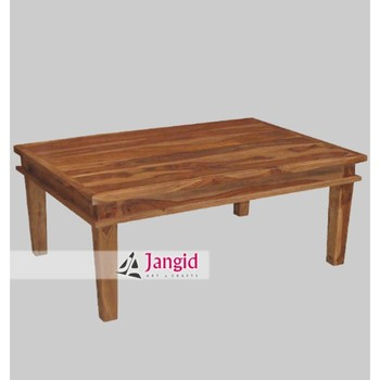 Simple Stylish Modern Indian Wooden Rectangular Sofa ...