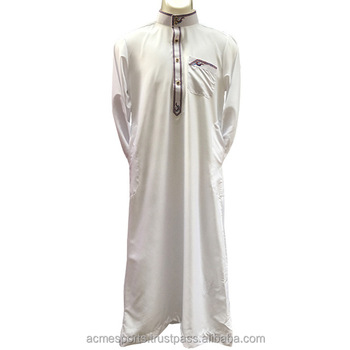 Muslim Al Daffah Thobes - Wholesale factory price model men abaya dubai al  daffah thobe, View new style islamic clothing muslim men thobe, Acme Sports