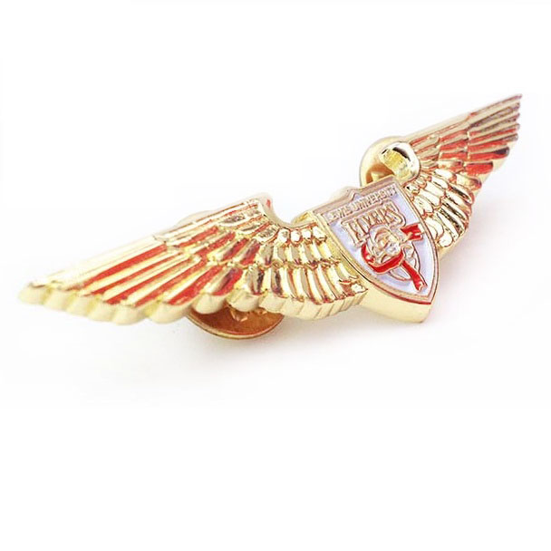 New Hot <strong>Custom</strong> Airline Pilot Wings <strong>Metal</strong> <strong>Badge</strong> Lapel Pin China