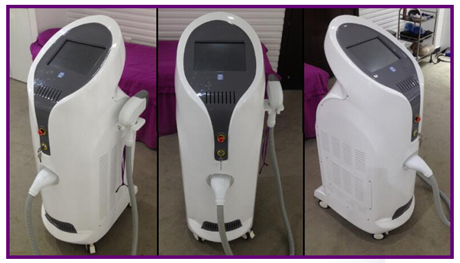 Beauty light portable 808nm diode laser hair removal machine