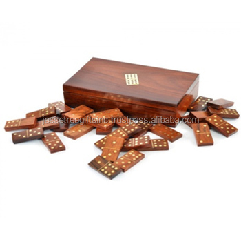 Dominoes with Brass work