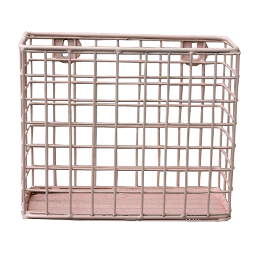 Iron Metal Wall Hanging Storage Basket
