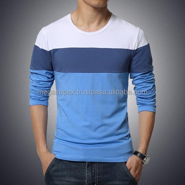 Fashion T Shirts New Fashion Mens Boys Casual T Shirts Long Sleeve Design Fashion T Shirts Buy Leather Sleeve T Shirts Plain Long Sleeve T Shirt Thin Long Sleeve T Shirts Product