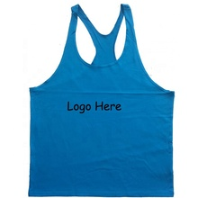 Tank Top Men Body Building Custom String