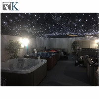 Best Price garden decoration light led star curtain continuous curtain fabric