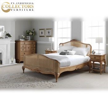 Moderne Ontwerp Mahonie Massief Hout Bed Set-slaapkamer Meubels ...