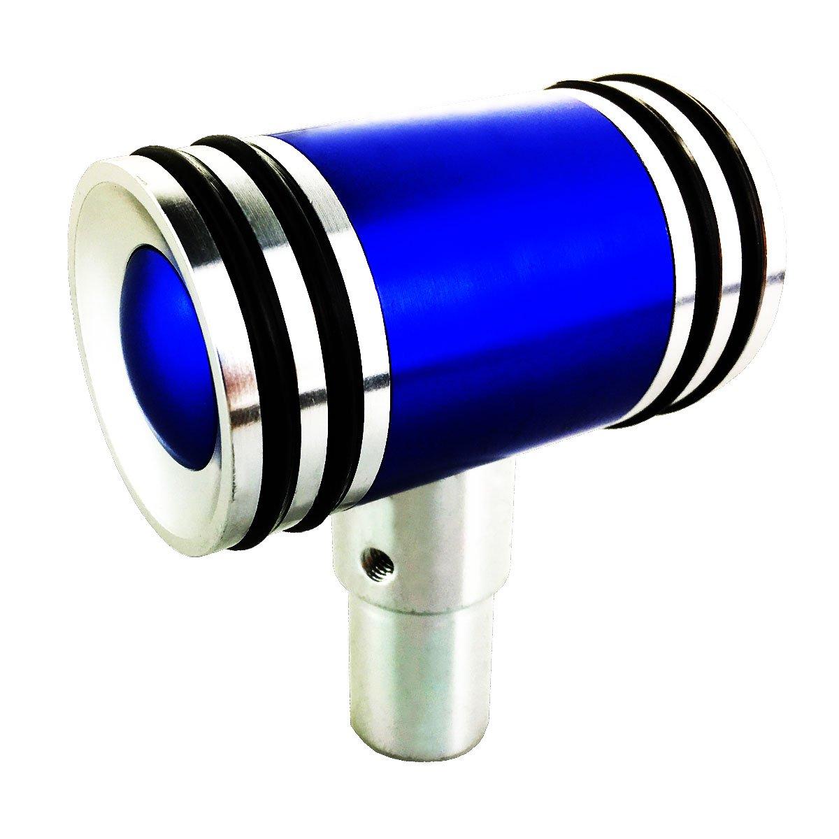 Abfer Automatic Stick Shift Knob Car Handle Shifter Blue Gear Shift Knobs Universal Aircraft Joystick Style Stick Shifter