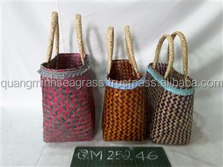 Beautiful Seagrass Beach Bag Hand Woven Wicker Shopping Bag Natural Durable  Straw Women Tote Bag Hot Wholesale - Buy Clutch Bag 5ff48e3c96ee7