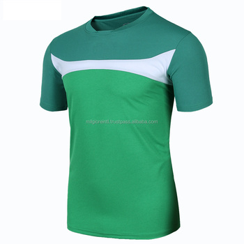 f368050b20b Green White Color Custom Pattern Striped Design Soccer Jersey - Buy ...