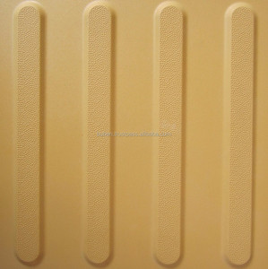 Hot sales Vietnam Manufacturer Ceramic Tiles Yellow Color for The Blinds