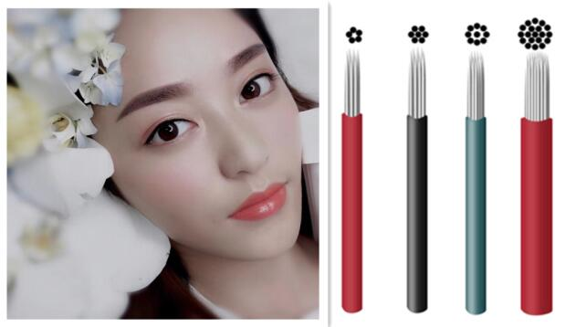 New Arrival Microblading Brow Practice Skin Roller Microshading Blades Marker Brow Roller for Microshading
