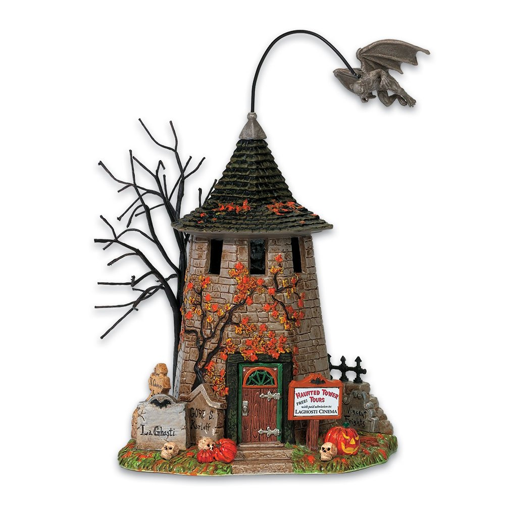 Department 56 Snow Village Haunted Tower Tours