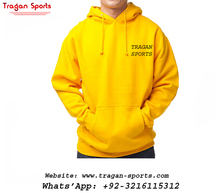 ผู้ชาย Hoodies Plain mens microfiber pullover เปล่าขนแกะ hoodies & sweatshirts