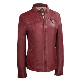 2018 Design High Quality Leather Biker Ladies Jacket Fashion Winter Womens Cheap Price Jackets Sports Wears Custom Wholesale